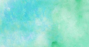 緑の綺麗な水彩画
