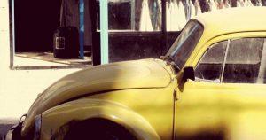 バンブルビーのモデルとなった黄色いビートル